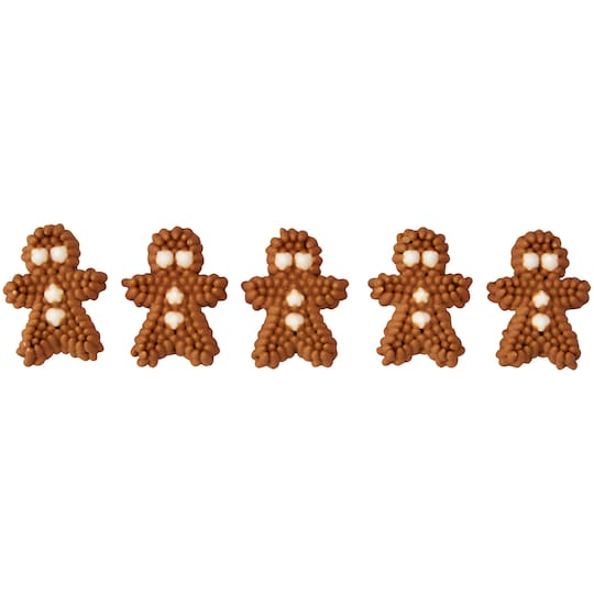 Wilton® Icing Decorations, Mini Gingerbread | Michaels®