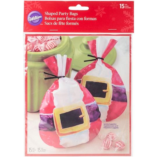 Wilton® Santa Belt Shaped Party Bags | Michaels®
