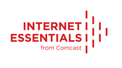 Internet Essentials from Comcast - low-cost internet for eligible people and families