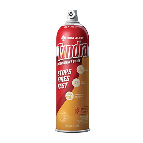 First Alert Fire Extinguisher | Tundra Fire Extinguishing Aerosol Spray™, AF400: