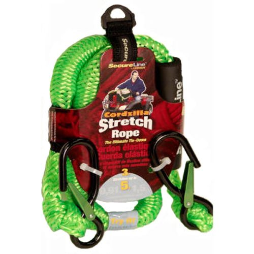 Crawford-Lehigh CZB3 Stretch Rope 3-Feet Green - Secure your load!