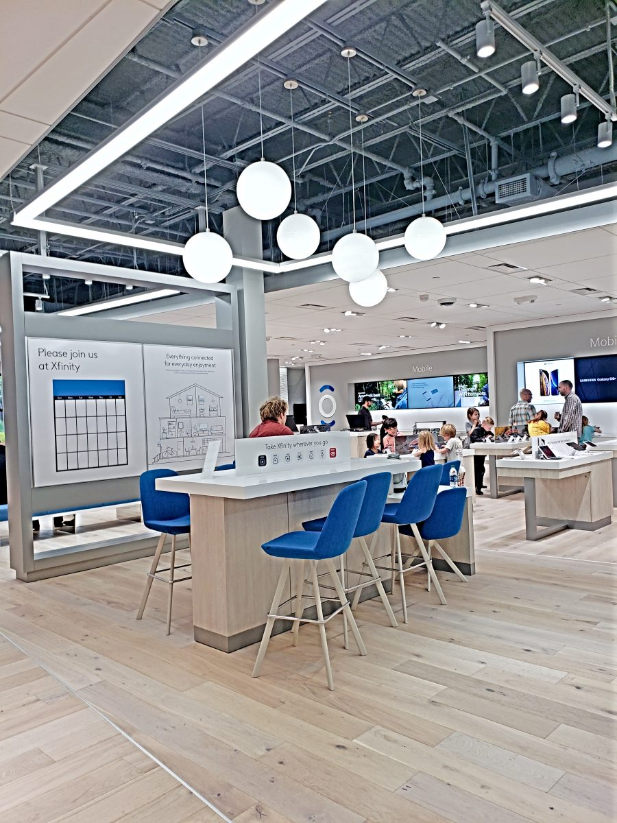 The Learning Zone at the Xfinity Store by Comcast at Bellevue Square