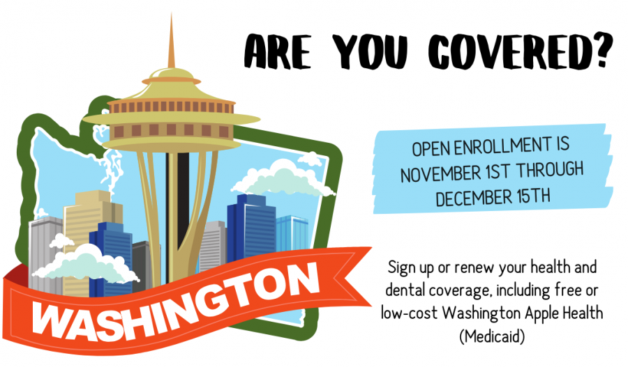 November is Open Enrollment in Washington State for Health and Dental Plans - compare plans and find out more #ad #GetCoveredWA #OpenEnrollment
