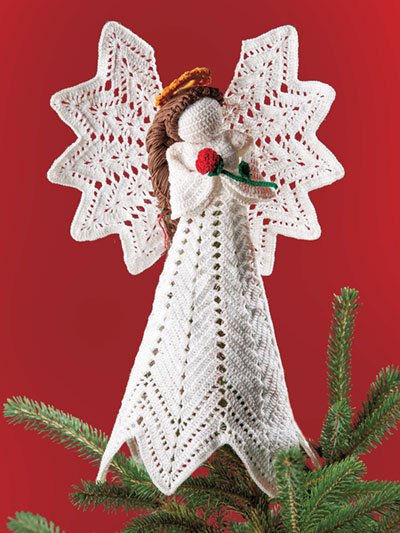 Christmas Charity Angel Crochet Patten - Electronic Download