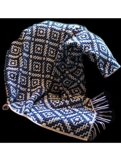 Granada Afghan Crochet Pattern