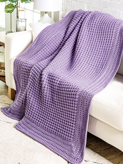 Timeless Textures Afghan Crochet Pattern - Electronic Download