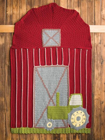 Tractor Love Afghan Crochet Pattern