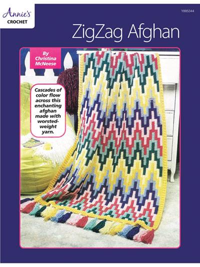 ZigZag Afghan Crochet Pattern