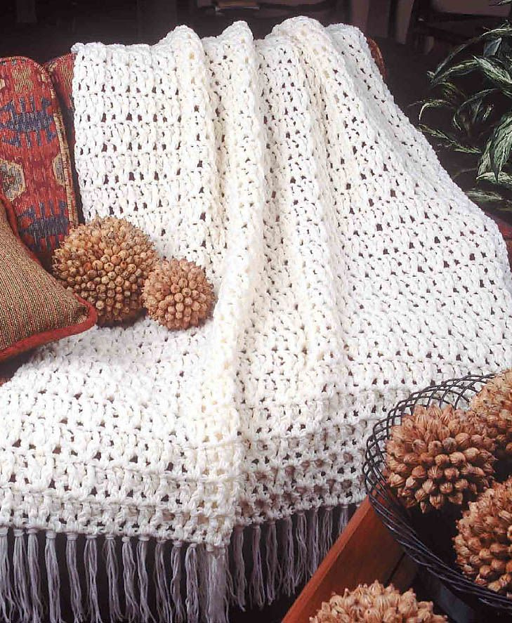 Big Book of Crochet Afghans: 26 Afghans for Year-Round Stitching - Easy Aran Afghan pattern