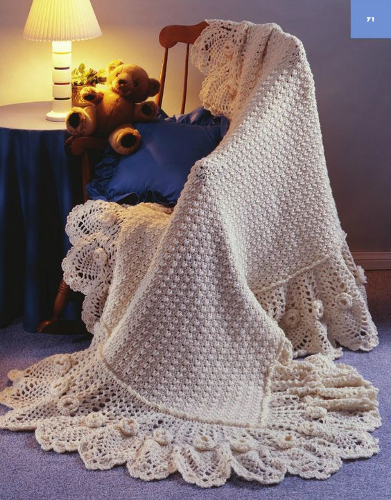 Big Book of Crochet Afghans: 26 Afghans for Year-Round Stitching - Sweet and light For Baby and Me Afghan pattern