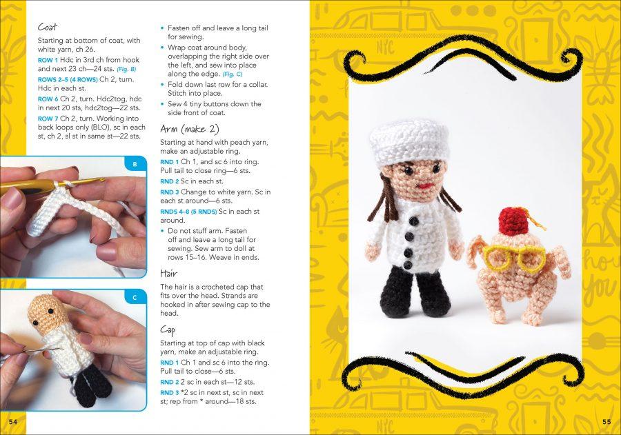 Friends Crochet Kit by Allison Hoffman aff