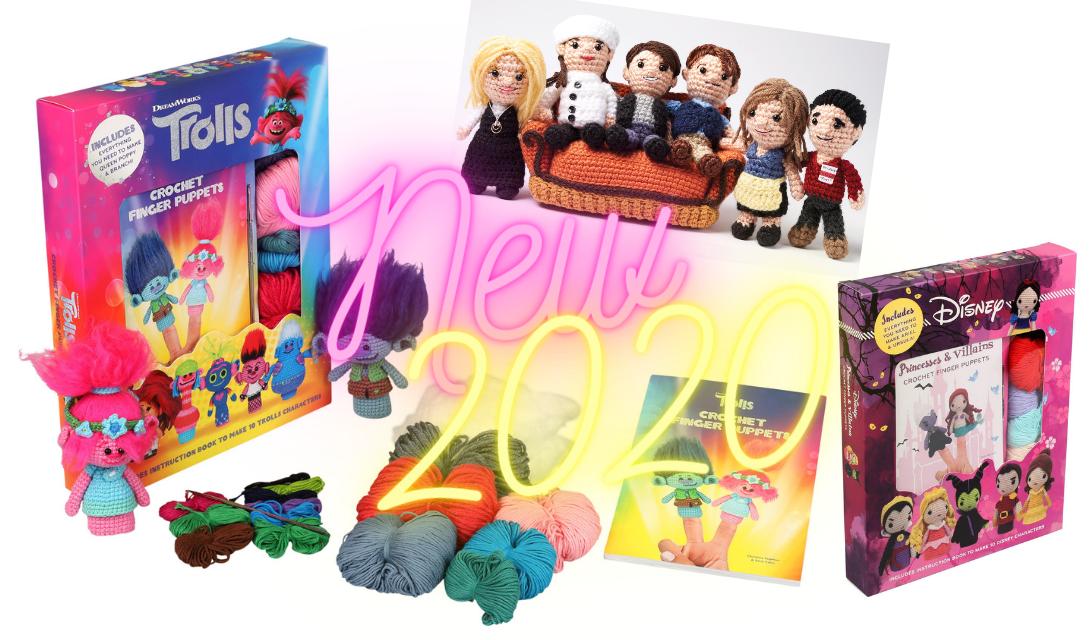 Cool New Crochet Kits Fall 2020!