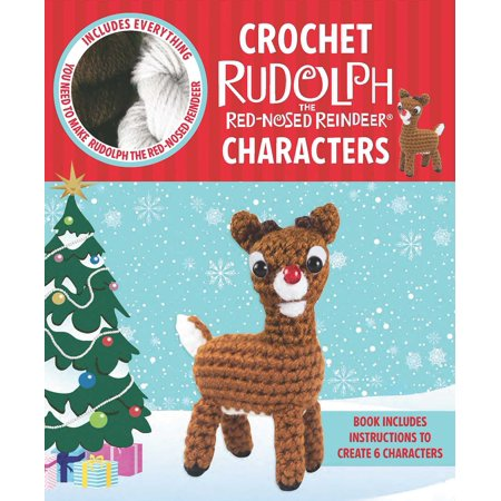 Crochet Rudolph the Red-Nosed Reindeer Characters