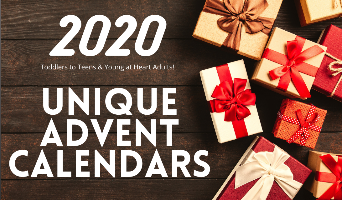 2020 Unique Christmas Advent Calendars - Arts Crafts Slime Toys - for toddlers to teens and fun adults