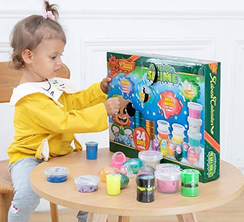 Ooze & Goo Slime Advent Calendar for Children