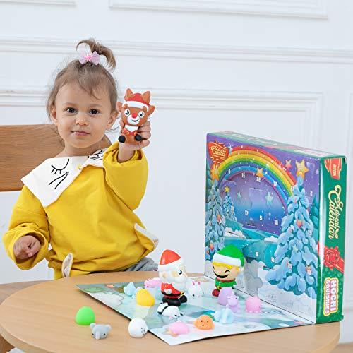JOYIN 2020 Mochi Squishy Advent Christmas Calendar for Children