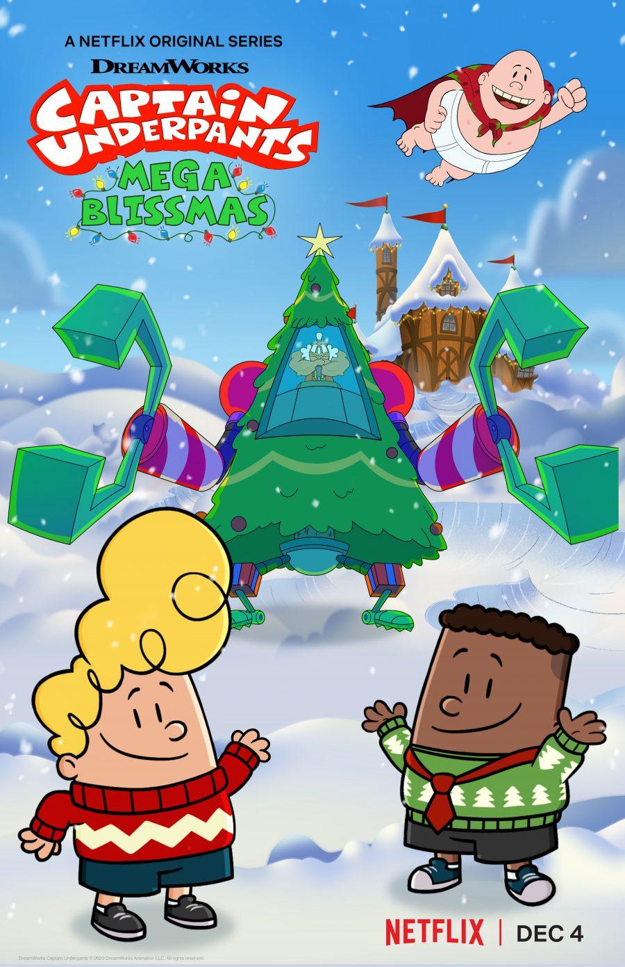 Captain Underpants: Mega Blissmas Holiday Special Release Date: December 4 Platform: Netflix