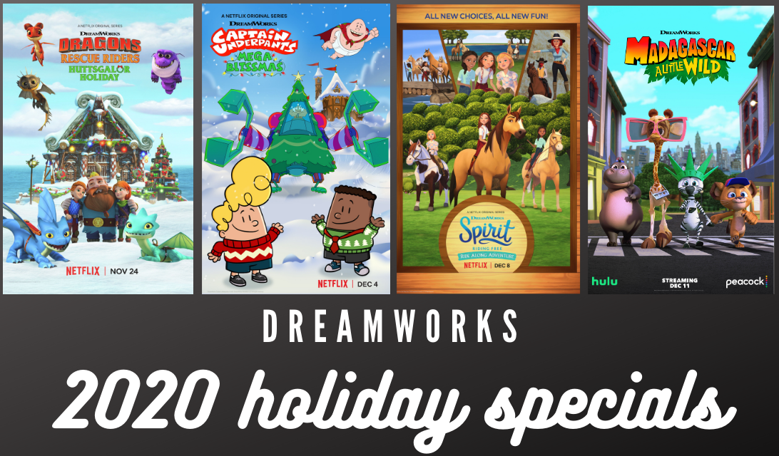 DreamWorks 2020 Holiday Specials