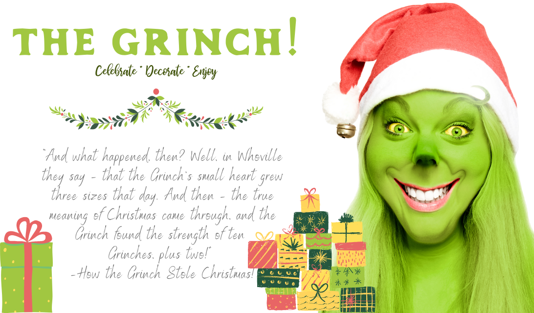 Grinch 2020 Pandemic Decor and Apparel