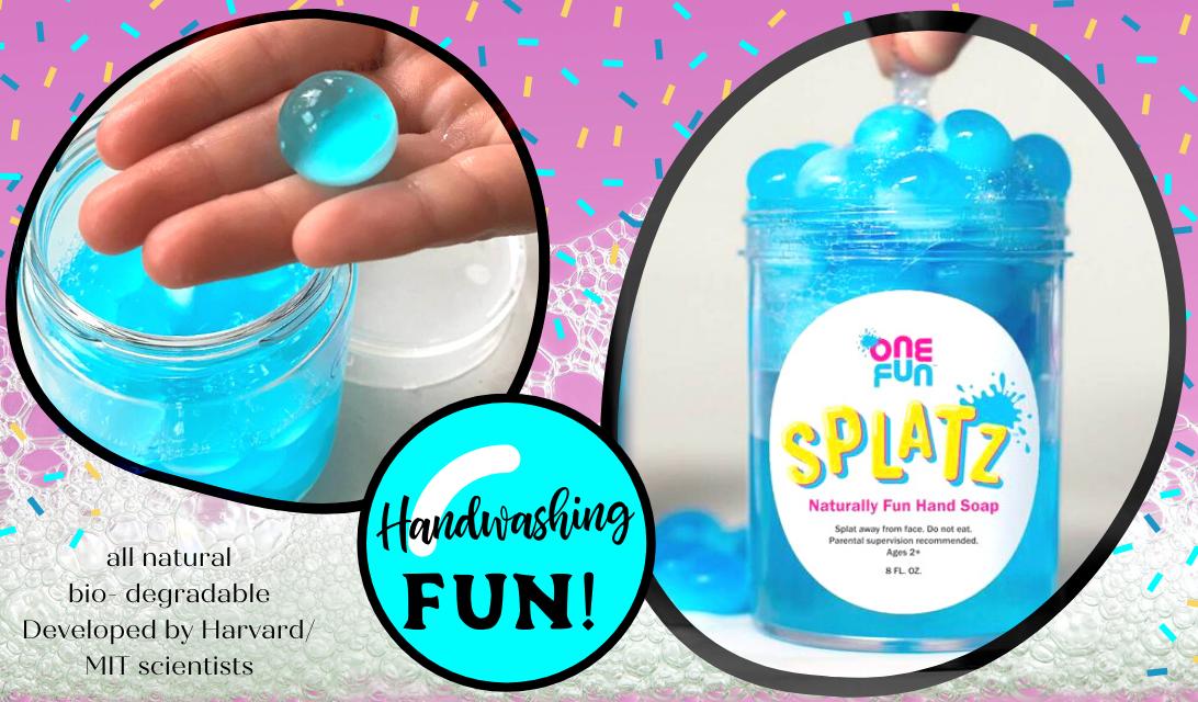 Splatz Fun Soap for Kids