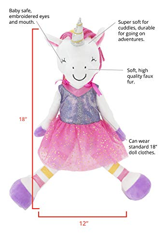 """Sharewood Forest Friends - Soft 18"""" dolls that wear most 18-inch doll clothes - 8 available aff"""