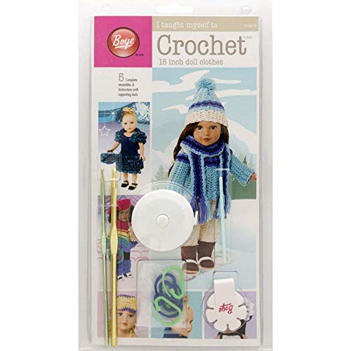 Boye Doll Clothes Learn to Crochet Crafting Arts and Crafts - 5 patterns aff