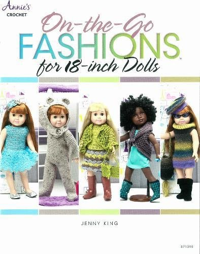 On-the-Go Fashions Crochet Patterns for 18-Inch Dolls aff