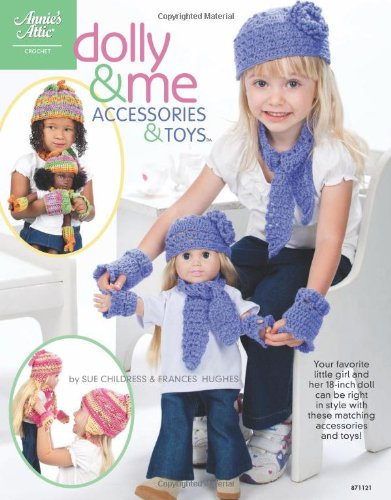 Dolly & Me Accessories & Toys Crochet Patterns aff