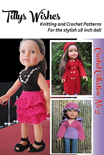 Tilly's Wishes Crochet Pattern for 18-in Dolls Collection No2 aff