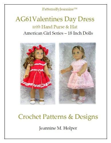 American Girl Valentines Day Dress Crochet Pattern aff