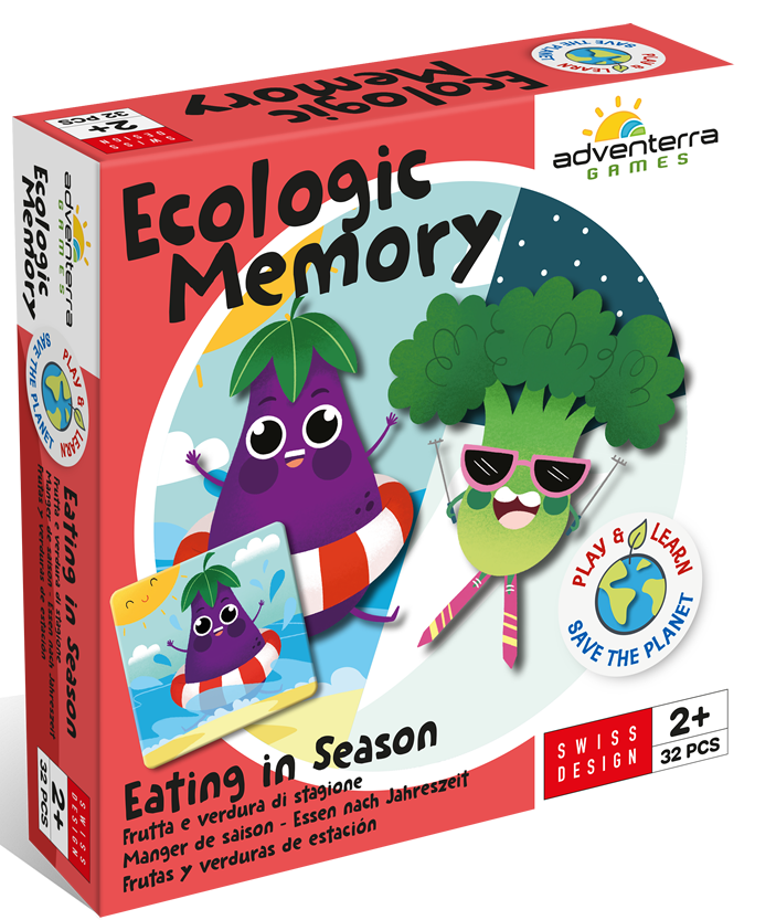 Adventerra Ecologic Puzzle Eating in Season #adventerragamesusa #ad