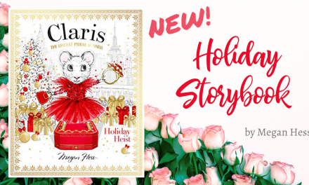 Claris The Chicest Mouse in Paris Holiday Heist Storybook