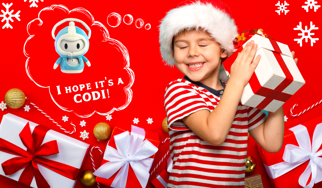 Codi Interactive Reading Robot for Kids - Great Gift
