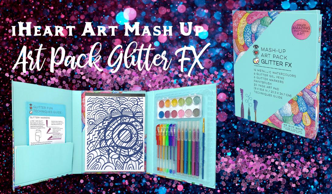 iHeart Art Mash-Up Art Pack Glitter FX ad