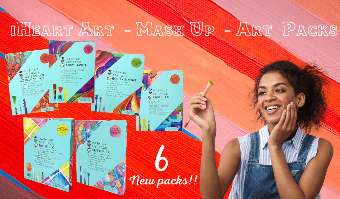 iHeart Art Mash-Up Art Packs – Release Your Inner Artist!