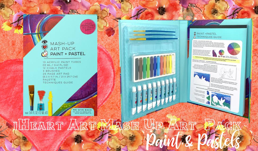 iHeart Art Mash-Up Art Pack Paint & Pastel ad