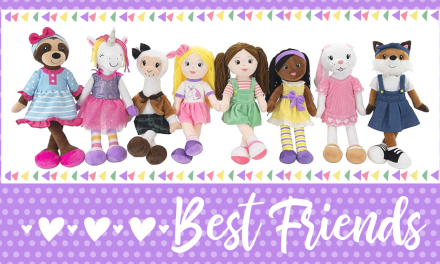 Sharewood Forest Friends: Soft 18-inch Dolls and Animals For Toddlers