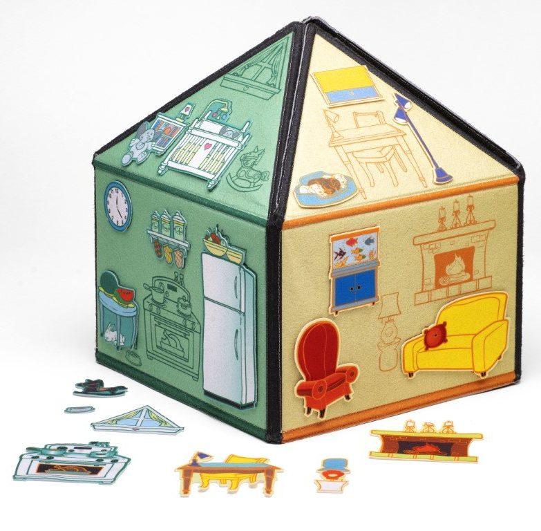 SmartFelt Toys - My Little House - 3D Felt House aff