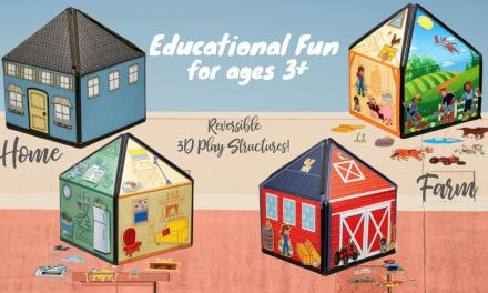 SmartFelt 3D Interactive Felt Playset – Educational Fun for ages 3+