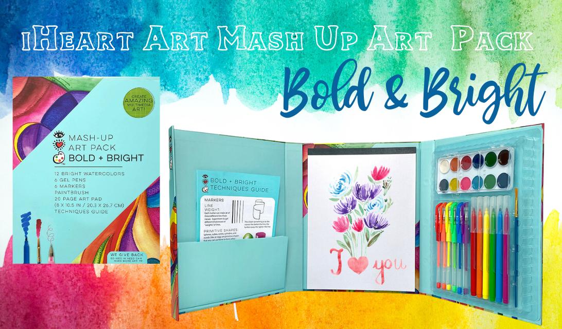 iHeart Art Mash-Up Art Pack Bold & Bright -- ad