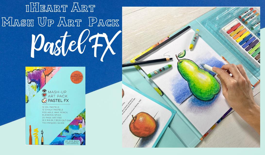 iHeart Art Mash-Up Art Pack Pastel FX ad