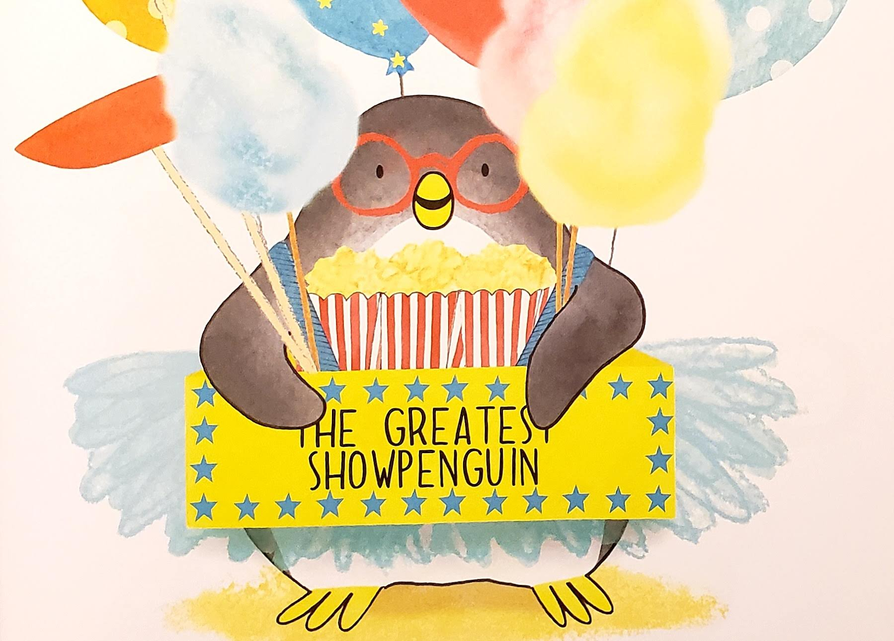 Greatest ShowPenguin Children's Book - ages 3-6