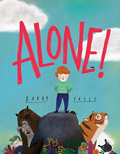 Alone! By Barry Falls for kids ages 3-6 aff
