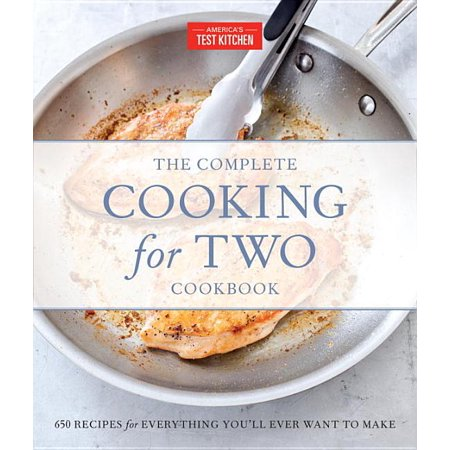 The Complete Atk Cookbook: The Complete Cooking for Two Cookbook, Gift Edition : 650 Recipes for Everything You'll Ever Want to Make (Hardcover)